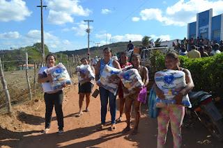 LBV entrega 25 toneladas de alimentos pela Campanha de Natal na Paraíba