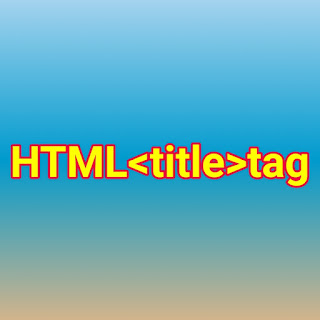 HTML <title> tag