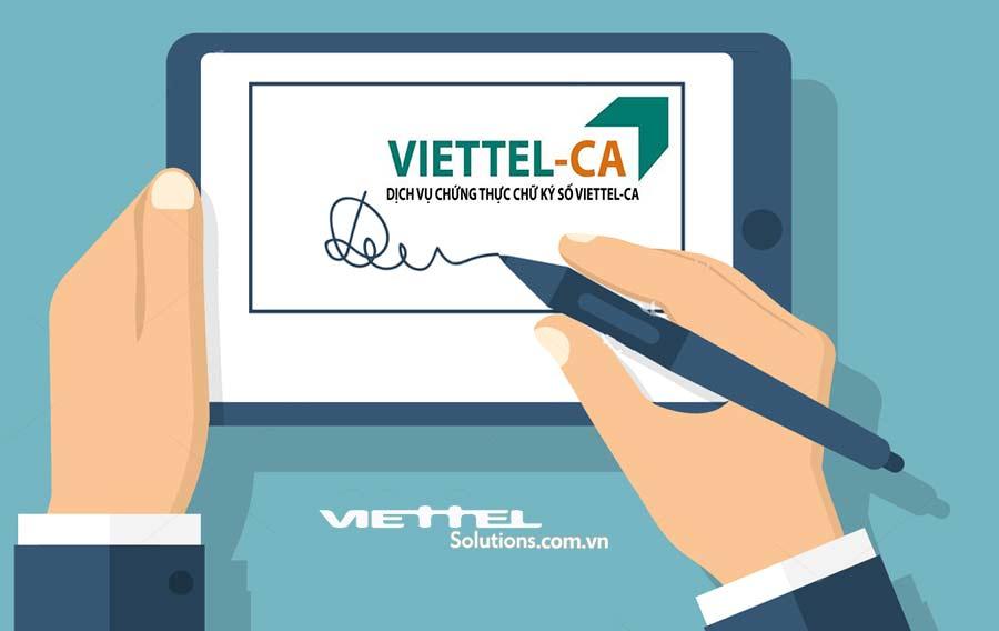 Ảnh minh họa: Viettel ra mắt giải pháp ký số từ xa Viettel-CA Cloud không cần thiết bị
