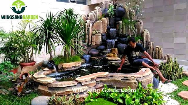 Jasa Tukang Kolam Relief Tebing Gresik | Jasa Pembuatan Kolam Tebing Air Terjun Di Gresik