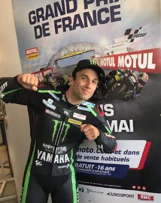 Johann Zarco Le Mans Perancis 2018
