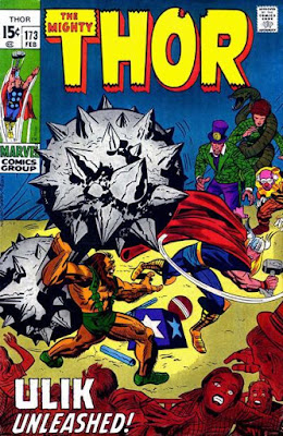 Thor #173, Ulik and the Circus of Crime