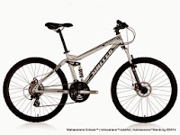 Sepeda Gunung United Miami FX07 Full Suspension 21 Speed 26 Inci