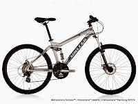 Sepeda Gunung United Miami FX07 Full Suspension 21 Speed 26 Inci