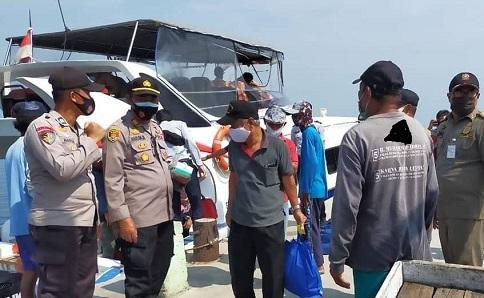 Wisatawan Datang Di Pulau Pramuka Dilakukan Rapid Test