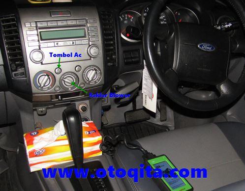 Panel ac mobil ford ranger