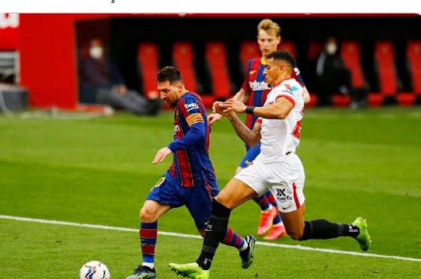 "Gol dan ""assist"" Messi menangkan Barcelona di kandang Sevilla"