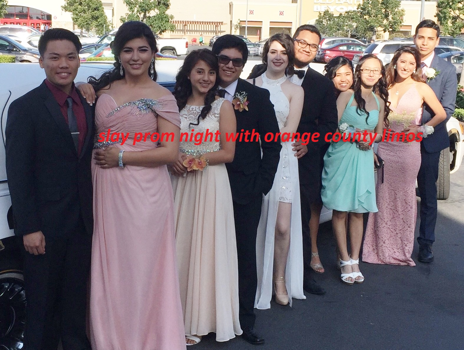 Limo Prom Orange County Limo Services Excel Fleet Limo Prom Limousine