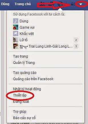 cách đổi tên nick facebook 1 chữ