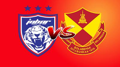 Live Streaming JDT vs Selangor Piala Malaysia 19.10.2019
