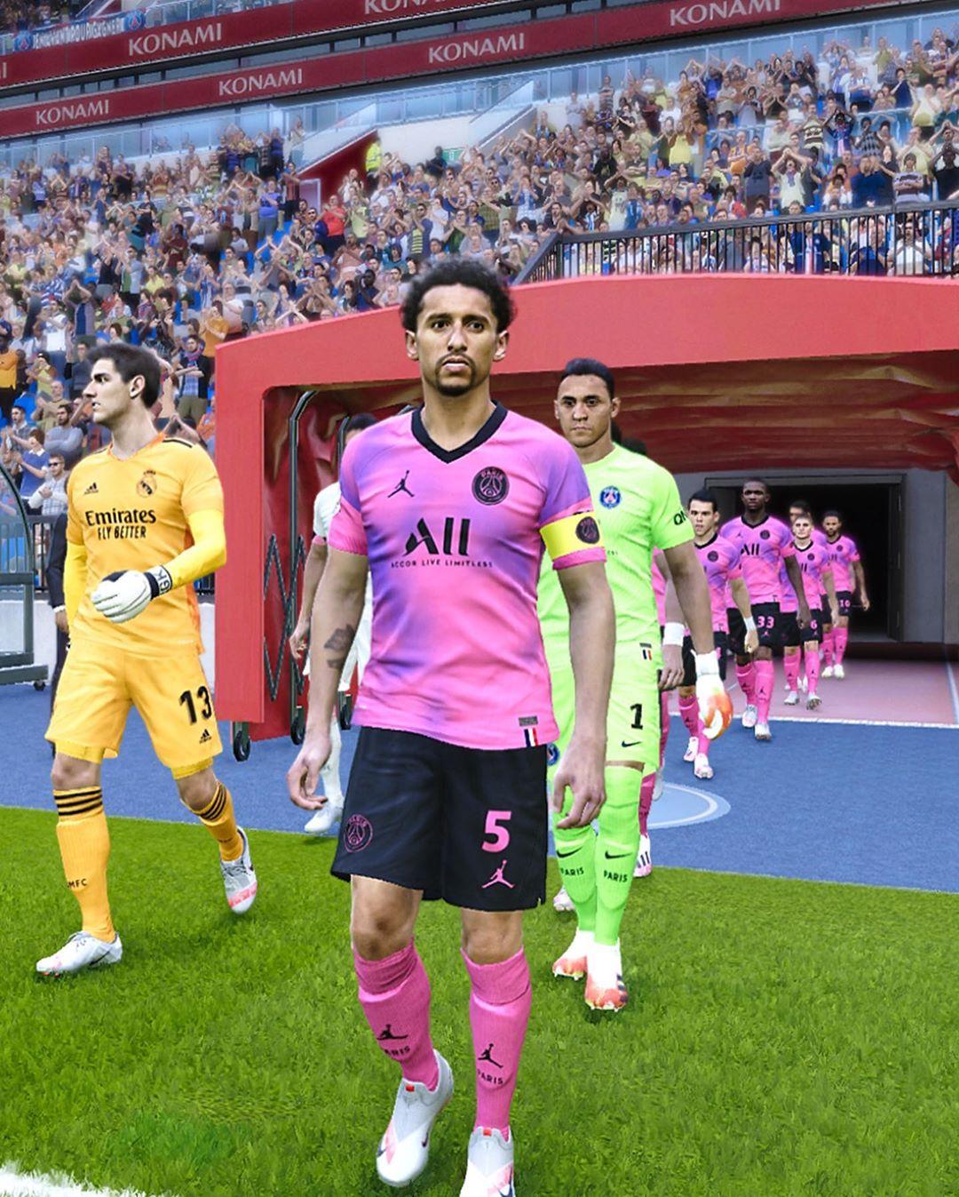Jordan Paris Saint-Germain 2021 Konzept-Vierttrikot - Nur ...