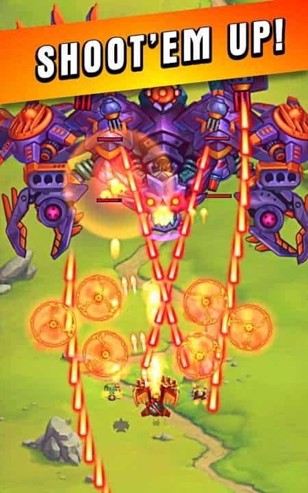 HAWK – Force of an Arcade v34.0.24776 MOD, High Damage/HP - Game hành động cho điện thoại