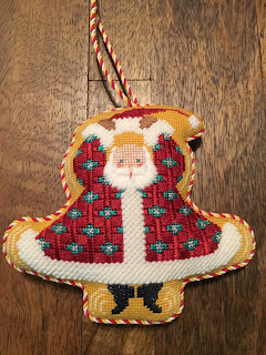 petei needlepoint whirling dervish santa