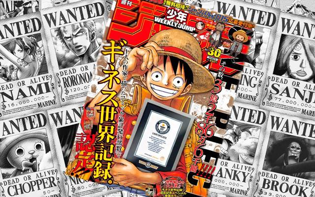 one piece world record best manga