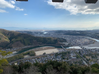 岩国城からの絶景