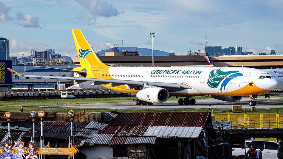 Cebu Pacific A330 Manila