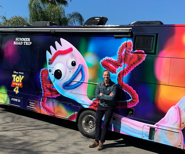 Toy Story 4 RV Tour Tony Hale