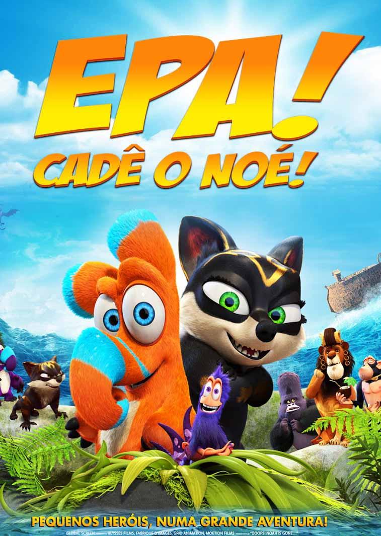 Epa! Cadê o Noé? 3D Torrent – Blu-ray Rip 1080p Dual Áudio (2016)