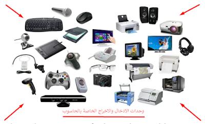 وحدات الادخال والاخراج الخاصة بالكمبيوتر