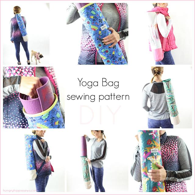 Sewhungryhippie Ananda Yoga Bag Sewing Pattern Tutorial