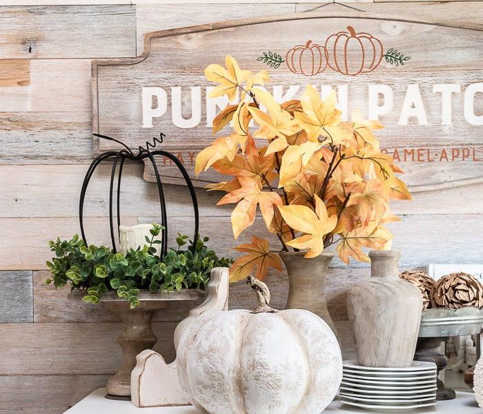 DIY Farmhouse Heirloom Pumpkins for Less than $10