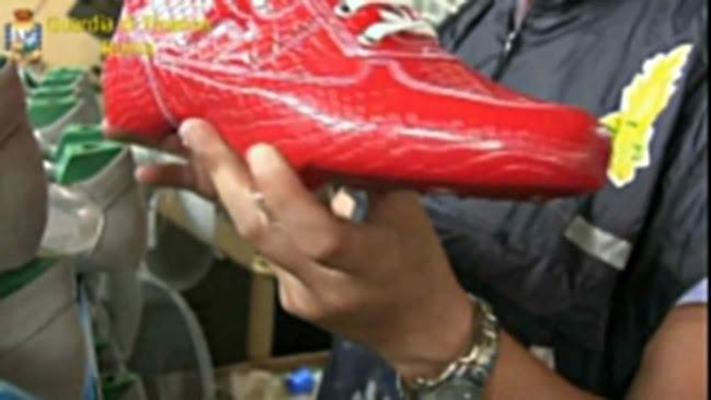Banda di falsari tra Lazio e Campania: 230mila scarpe sequestrate