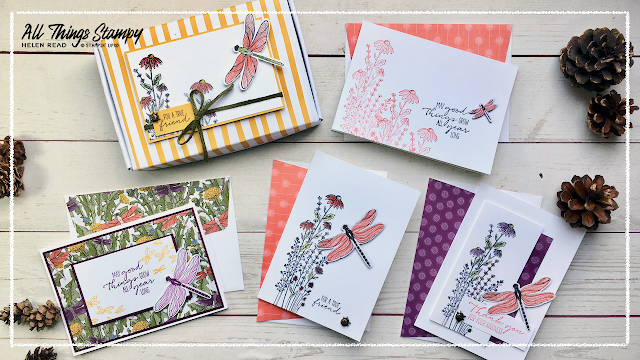Dandy Dragonfly Garden Wishes Stampin Up