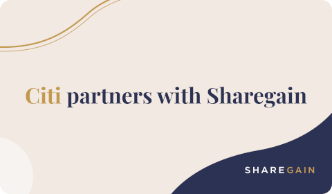 Citi partners with Sharegain