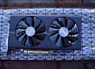 Sapphire AMD Rx 580 8gb graphics card