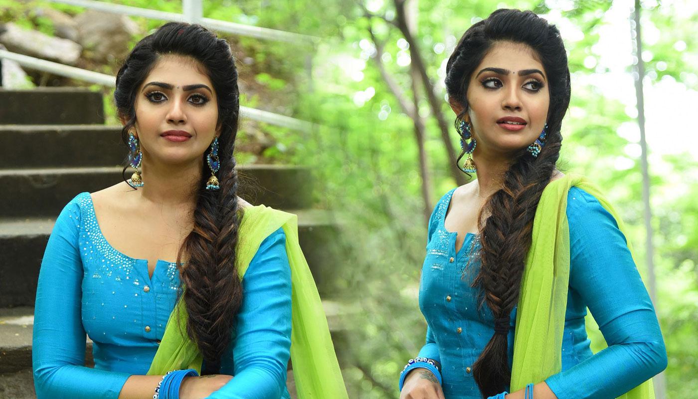 Varsha Viswanath Stills andamaina lokam movie