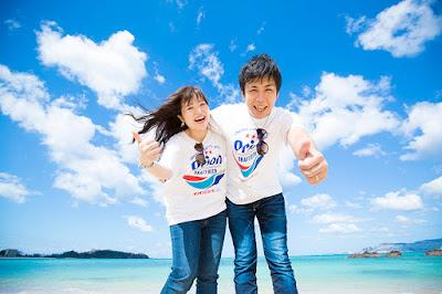 沖縄 カップル 写真