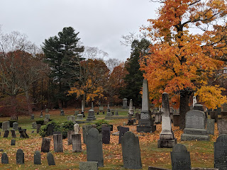 a photo from walking around the grey day that Oct 29 was in Franklin