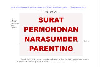 """<img src=""""https://1.bp.blogspot.com/-SDEYFN1tpdc/Xhinklayl6I/AAAAAAAACDw/rj3C6PlxzZc_R3pIXc6A-10WXNYvoRisgCEwYBhgL/s320/contoh-surat-permohonan-narasumber-parenting.png"""" alt=""""Contoh Surat Permohonan Narasumber Parenting""""/>"""