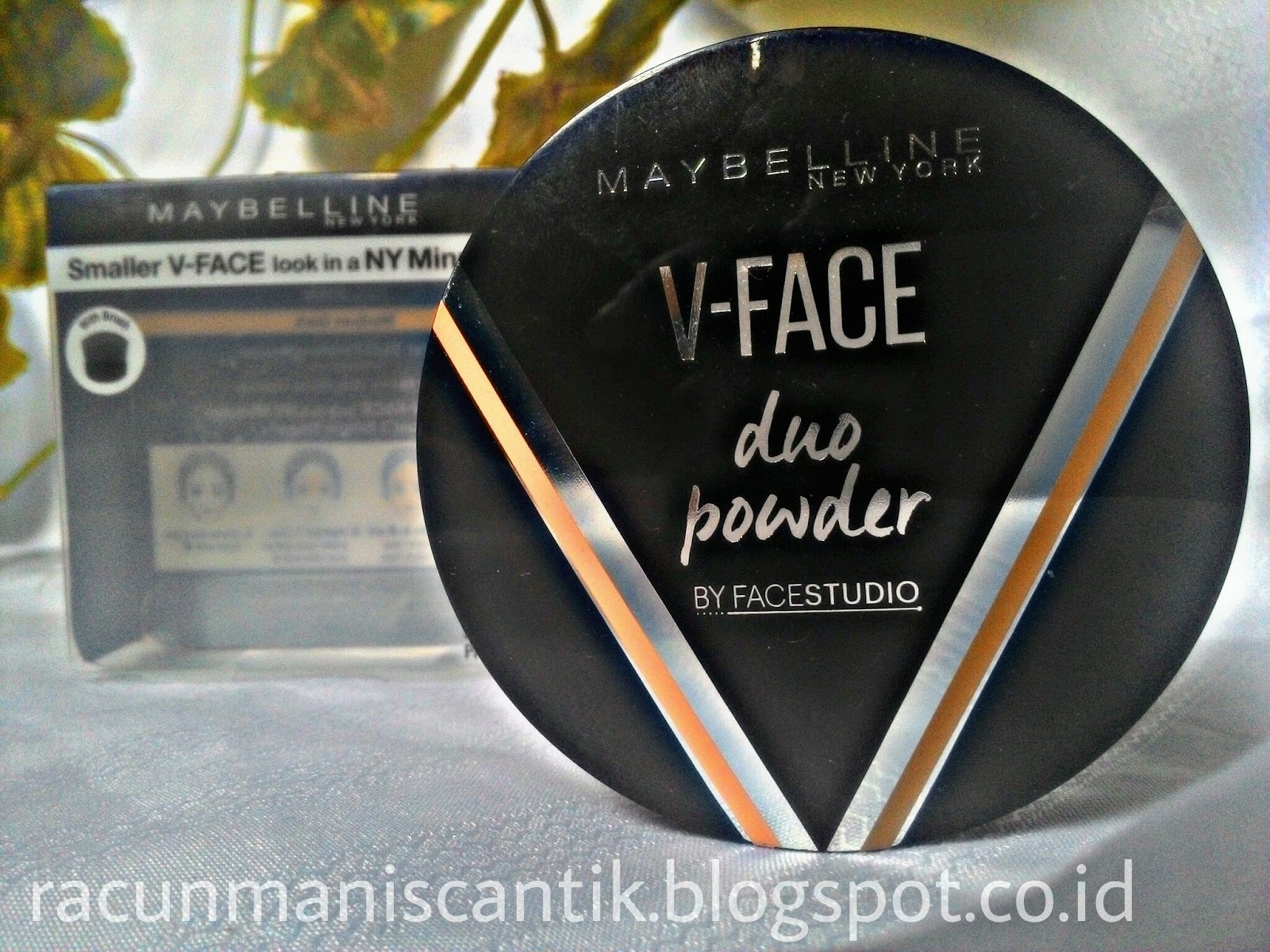 Review Maybelline V Face Duo Powder Racunmaniscantik Meyne