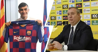 Las Palmas president reveals Pedri's total transfer fee could reach €35m
