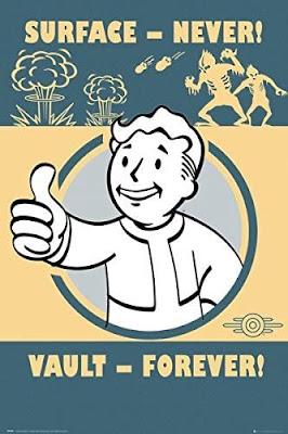 Fallout 4 Vault Boy Poster