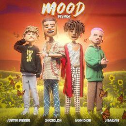 Mood (Remix) Lyrics - 24kGoldn, Justin Bieber, J Balvin & iann dior