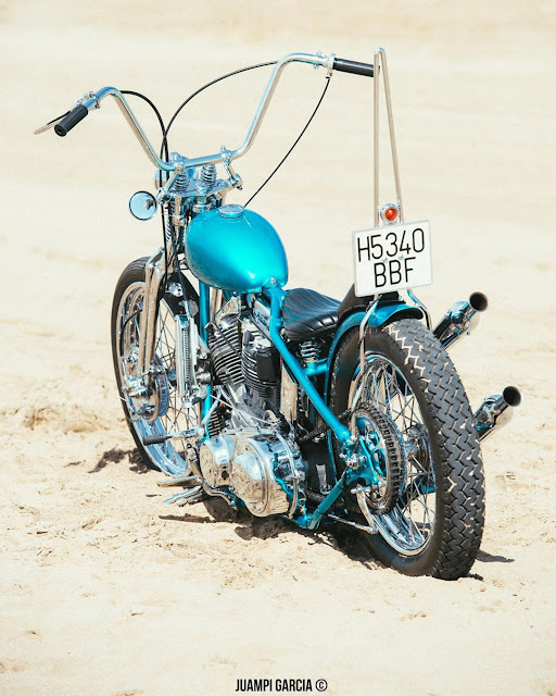 Harley Davidson Panhead By Good Motorcycles Hell Kustom