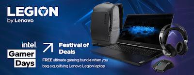 lenovo legion intel gamer days promotion