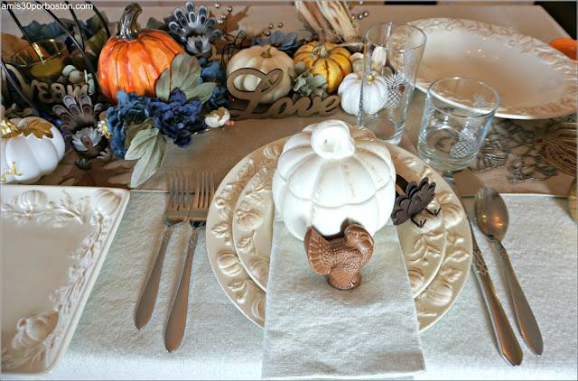 Nuestra Mesa en la Cena de Acción de Gracias