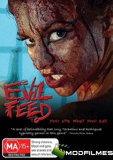 Capa do Filme Evil Feed