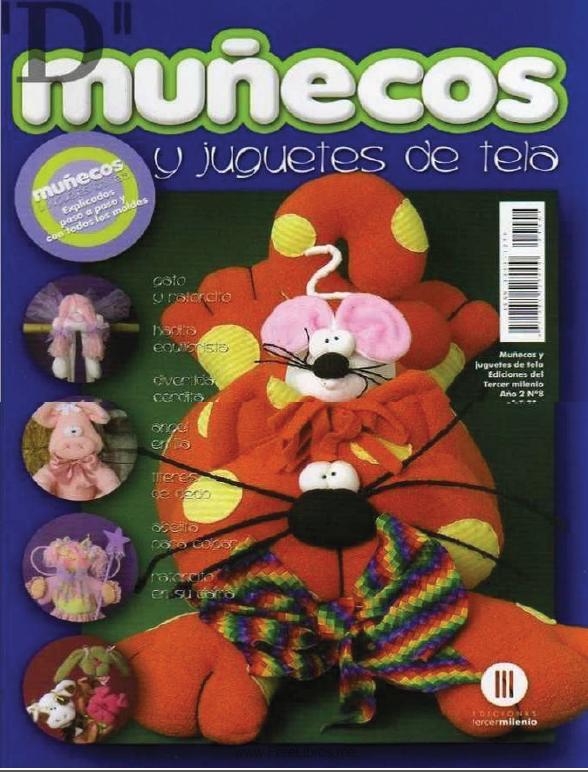 Muñecos y Juguetes de tela Nro. 8
