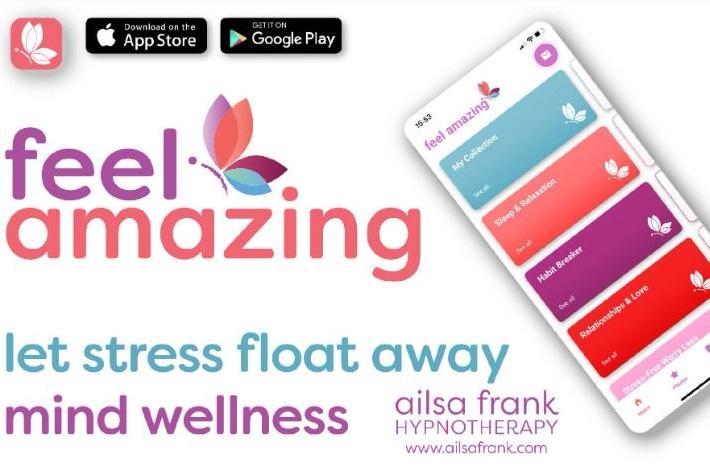 Feel Amazing app by Alisa Frank