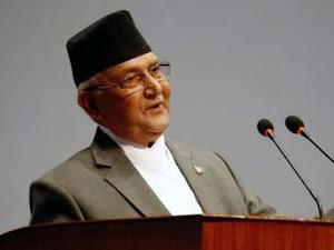 """पीएम ओली का दावा """"असली"""" अयोध्या नेपाल में है, भगवान राम नेपाली हैं"""