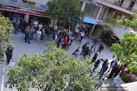 Ούτε 100 άτομα στον εορτασμό της Εργατικής Πρωτομαγιάς στην Κατερίνη, την ώρα που στην βουλή νέα σκληρά μετρά έρχονται να επιδεινώσουν και άλλο την ήδη μίζερη ζωή του νεοέλληνα...