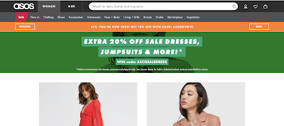 ASOS Sales and Cashback Rewards
