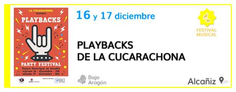 Playbacks de La Cucarachona en Alcañiz