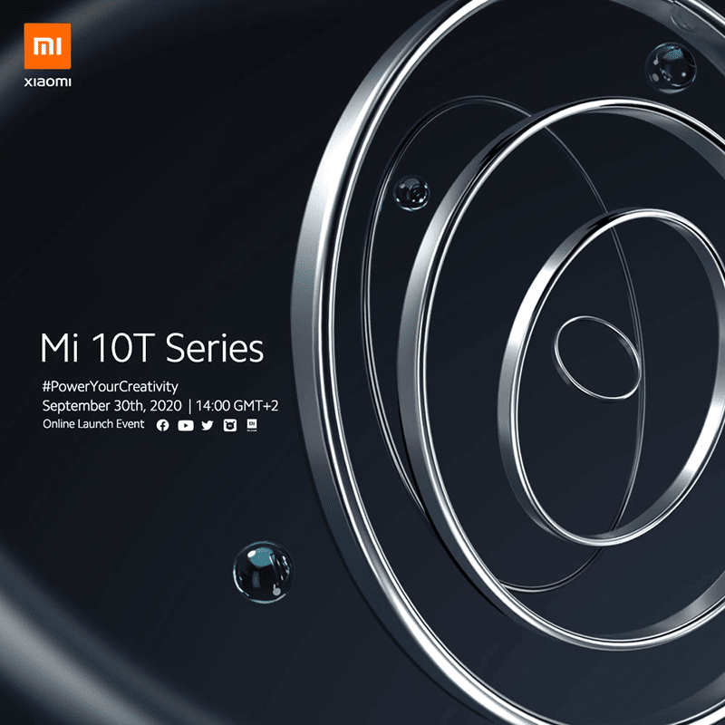 Xiaomi Mi 10T series will go official on September 30