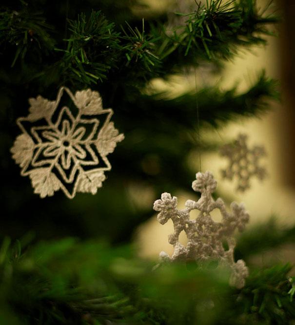 Chrochet Snowflakes-1