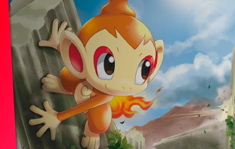 Carta Promocional Chimchar 25 Anos Pokémon